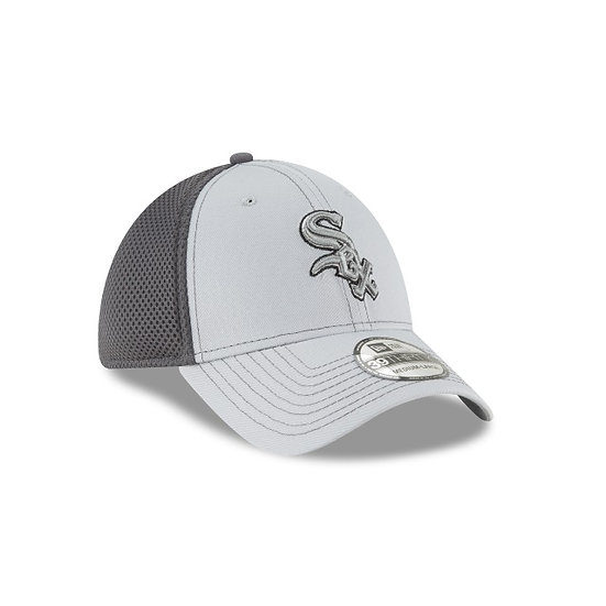 White Sox New Era Team Grayed Neo Stretch Fit Cap