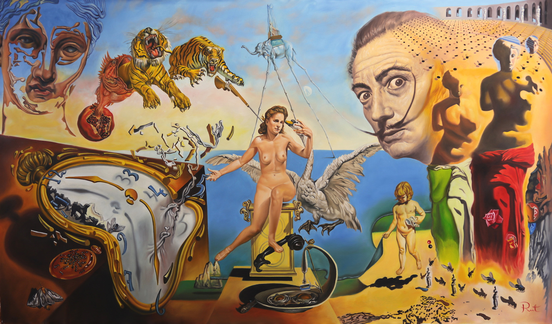 HOMAGE TO DALI 104x60 full.JPG