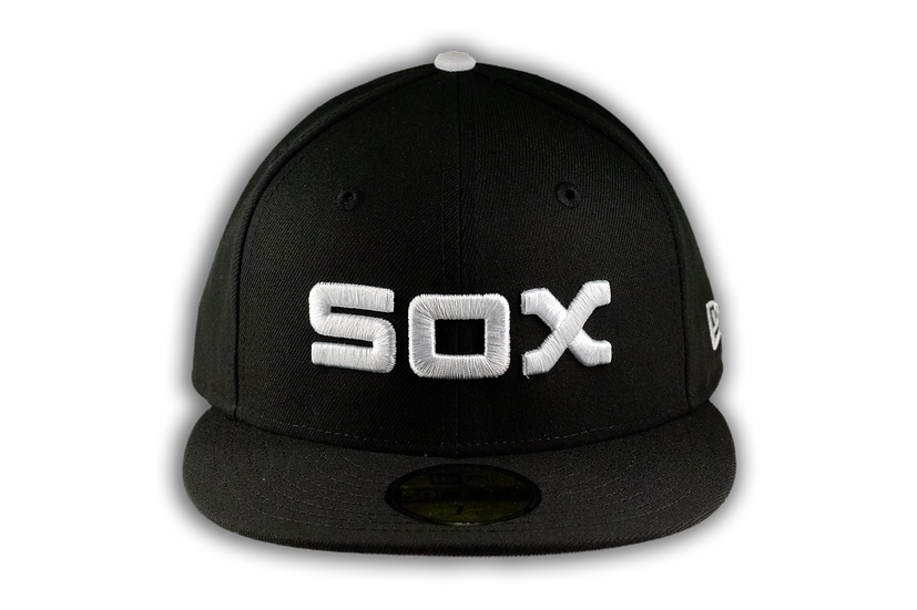 Chicago White Sox 1980 Inspired Black 59Fifty Cap by New Era