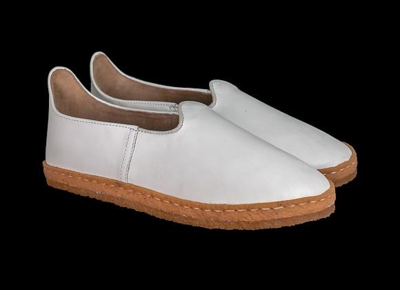 Karate White Leather