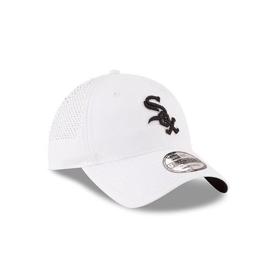 White Sox New Era Perf Pivot White Adjustable Cap