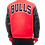Thumbnail: Chicago Bulls Varsity Red Wool/Leather by Pro Standard