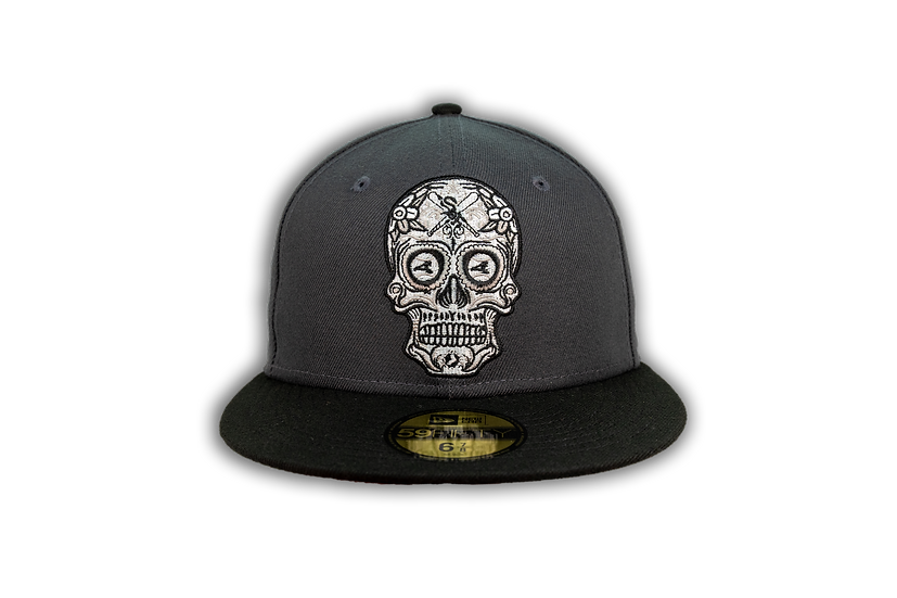 Chicago White Sox New Era Graphite/Black Sugar Skull 59FIfty