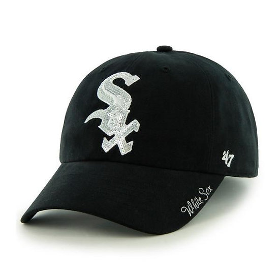 White Sox 47 Brand Sparkle Adjustable Hat