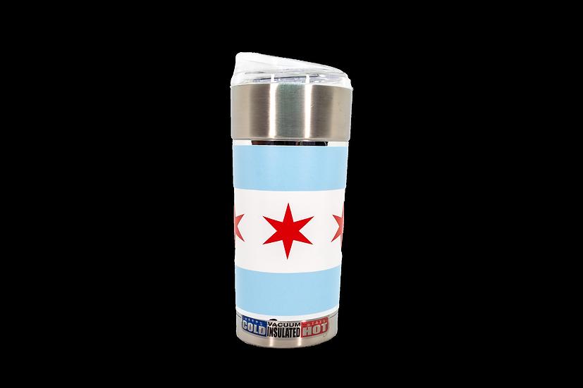 Chicago Flag 24oz. Wrapped Hot/Cold Travel Mug