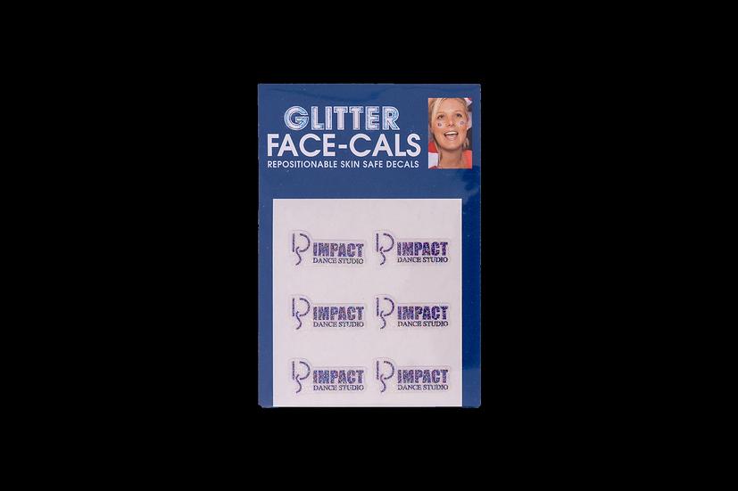 Impact Dance Glitter FaceCals