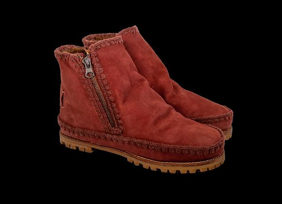 Red Sheepwool VonZip Boot