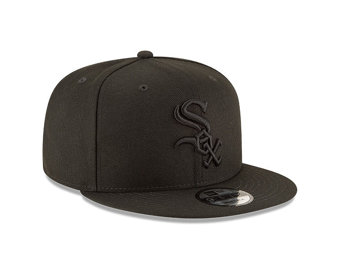 White Sox New Era Black Tonal 59FIFTY Fitted Hat