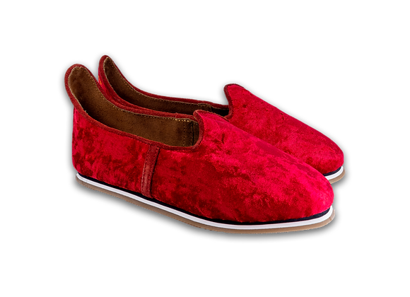 Red Iced Crushed Velvet Baba