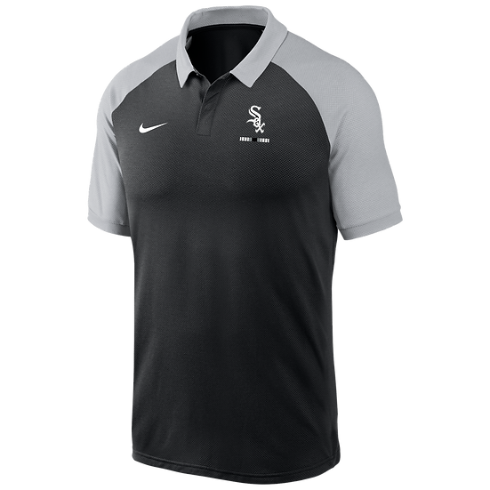 White Sox Nike Front Office Two-Tone Polo