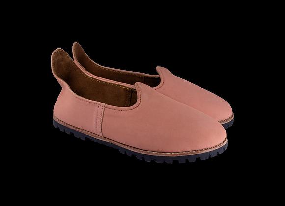 Pink Nubuk Lug Baba