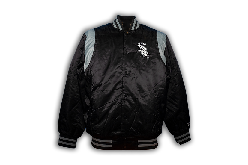 White Sox Starter Clubhouse Satin Jacket