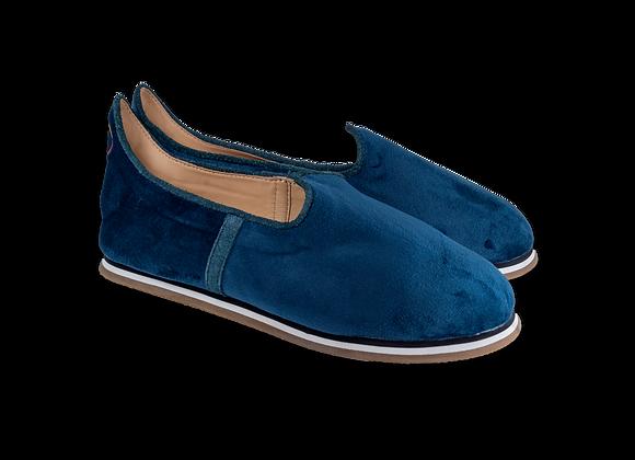 Federal Blue Velvet Baba