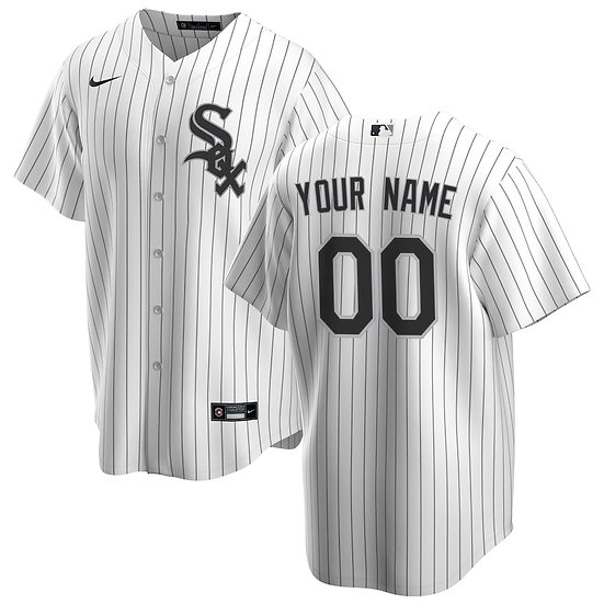 Men's Chicago White Sox Nike 2020 Replica Custom Jersey