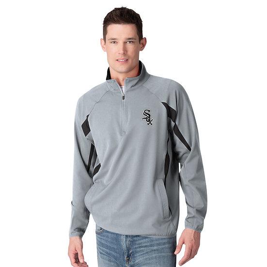 GIII White Sox 1/4 Zip Lightweight Jacket