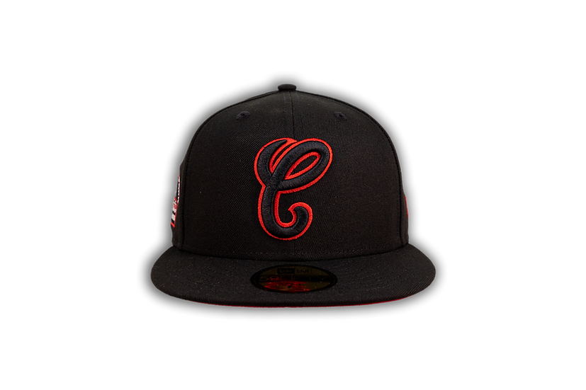 Chicago White Sox New Era 1990 Comiskey Black/Red 59Fifty