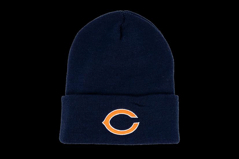 Chicago Bears Reebok Basic Primary C Cuffed Knit