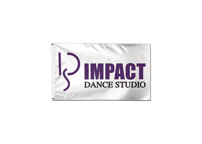 Impact Dance Studio 3X5 Deluxe Flag