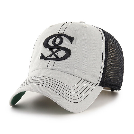 White Sox 47Brand Mesh Adjustable Trucker Hat
