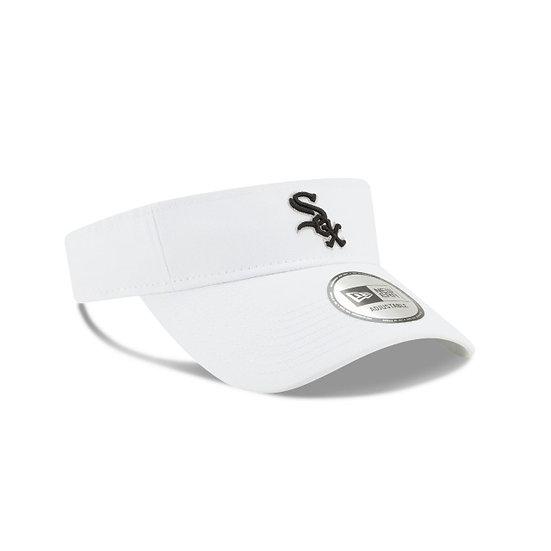 White Sox New Era White Essential Visor