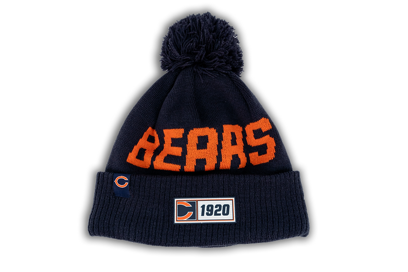 Chicago Bears New Era On Field Sport Knit W/Primary C Logo