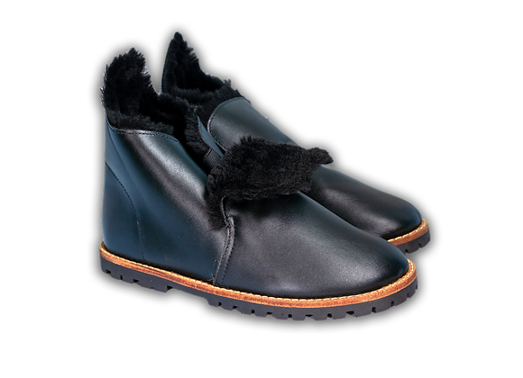 "Black ""Tabby"" Boot"