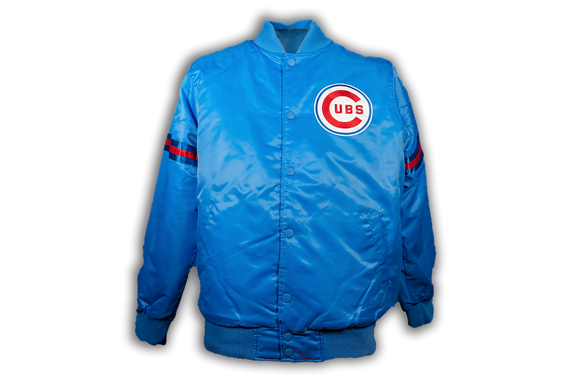 Cubs Starter 1969 Lt. Blue Starter Jacket