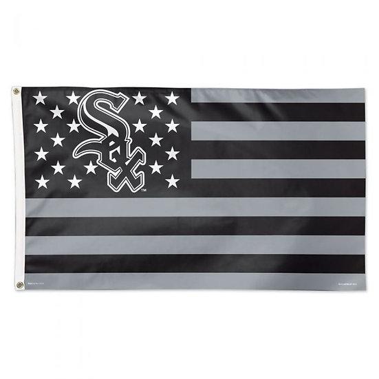CHICAGO WHITE SOX / PATRIOTIC FLAG - DELUXE 3' X 5'