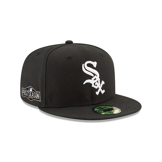 White Sox New Era Authentic Collection 2020 Postseason Sidepatch Fitted