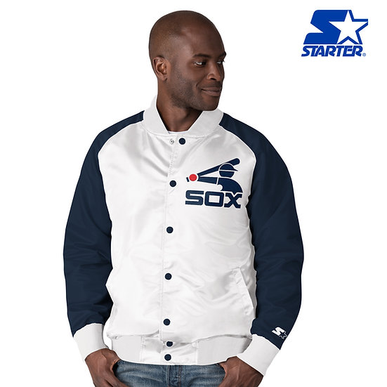 Starter White Sox 1983 Cooperstown Colorbloack Satin Jacket
