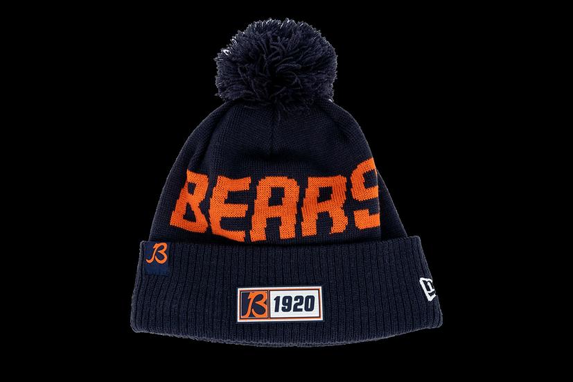 Chicago Bears New Era On Field Sport Knit W/Primary B Logo