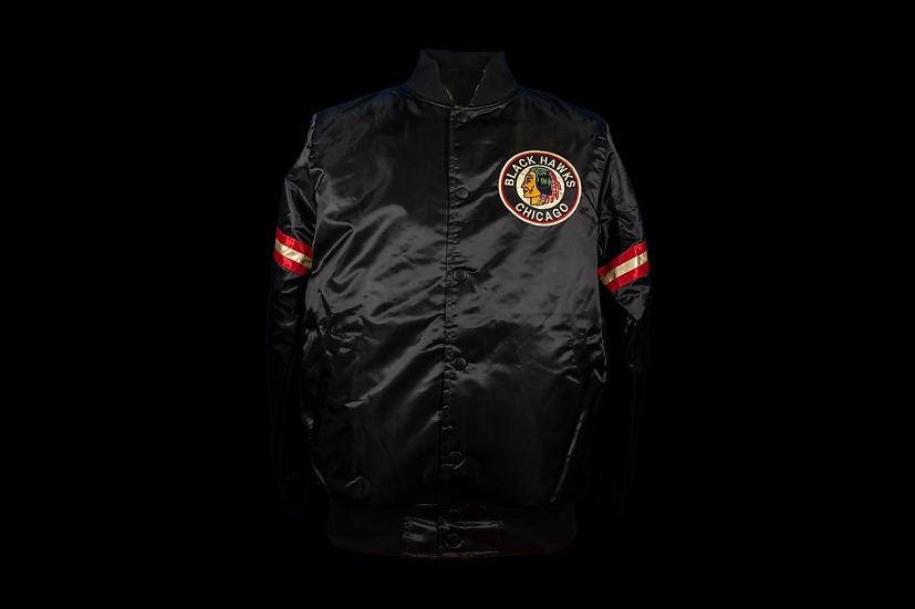 Blackhawks Starter 1926 Black Starter Jacket