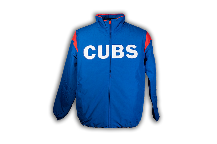 Chicago Cubs Majestic Dugout Jacket