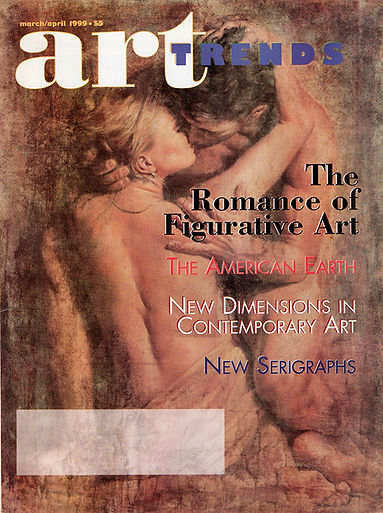 Artist Tomasz Rut featured in Art Trends Magazine