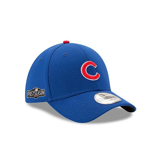 Cubs New Era 2020 Postseason Sidepatch Stretch Cap
