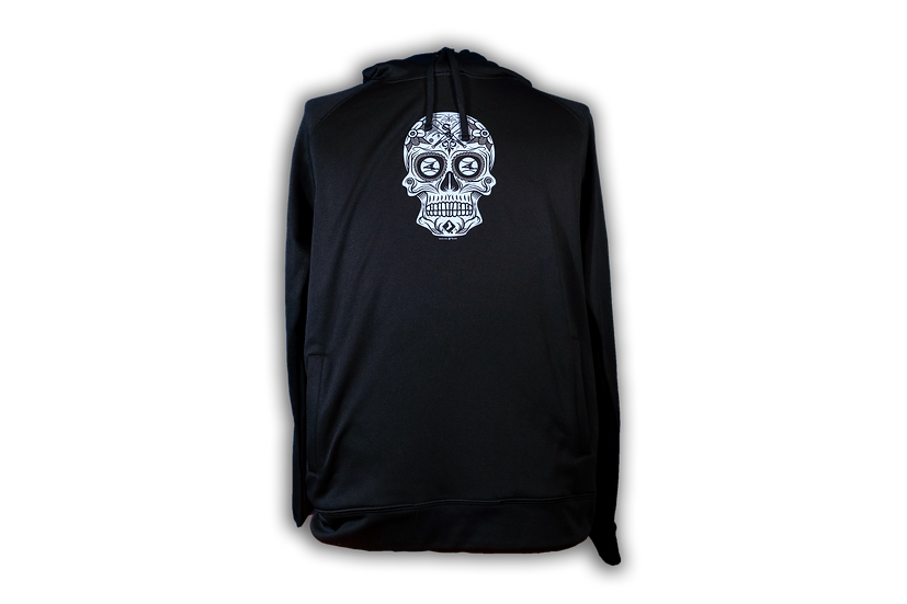 White Sox New Era Men's Sugar Skull Performance Black Hood