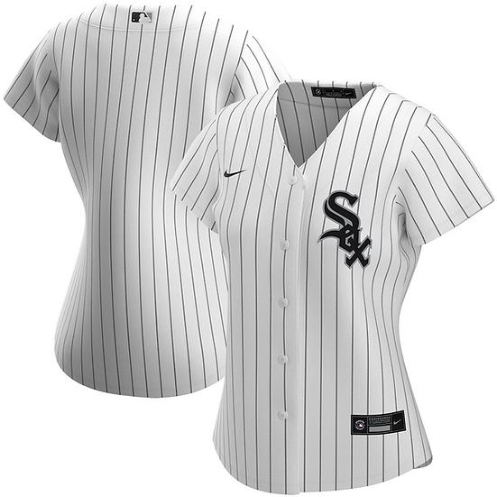 Women's Chicago White Sox Nike White Home 2020 Replica Team Jersey