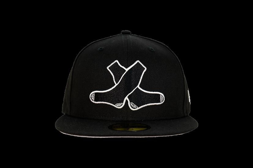 White Sox New Era Triple Black Shadow