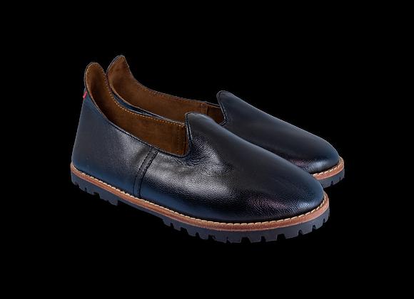 Black Leather Lug Baba