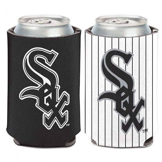 CHICAGO WHITE SOX 2 COLOR CAN COOLER 12 OZ.