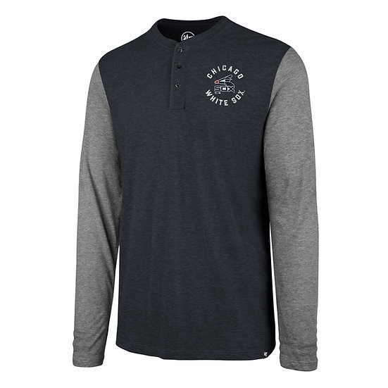 White Sox Downfield Henley Long-Sleeve T-Shirt