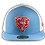 Thumbnail: Chicago Bears Chicago Flag Colorway 59Fifty Cap by New Era