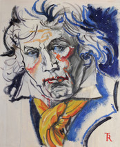 Study for BEETHOVEN