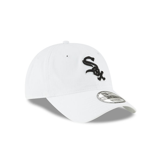 White Sox New Era 49Forty White Core Classic Fitted Cap
