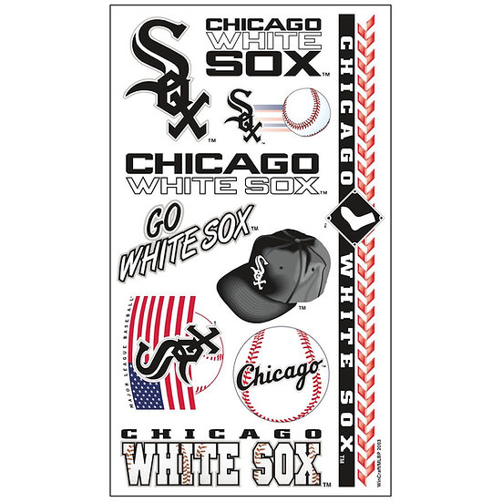 White Sox Tatoo Sheet