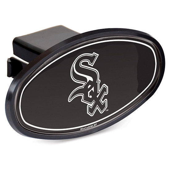 """WHITE SOX OVAL 2"""" HITCH RECEIVER"""