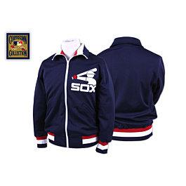 White Sox 1986 BP Jacket Mitchell & Ness