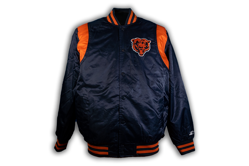 Chicago Bears Starter Classic Satin Jacket