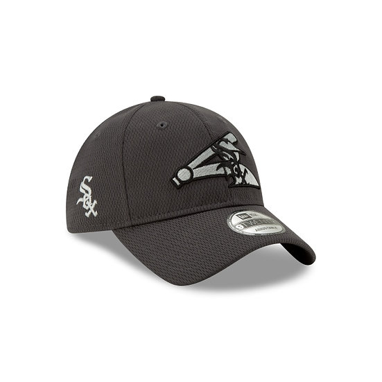 White Sox New Era Graphite Batting Practice Logo Adjustable Cap
