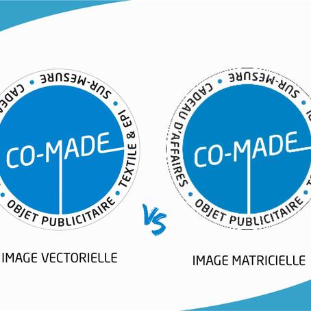 Image vectorielle ou image matricielle...
